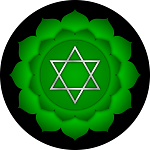 picture of symbol for heart chakra