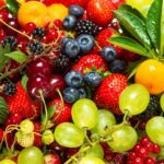 picture of fresh fruits and berries